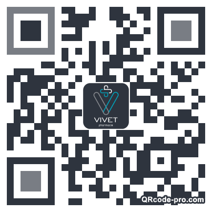 QR code with logo 1qKR0