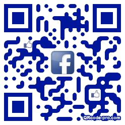 QR code with logo 1qa70