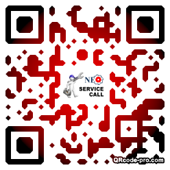 QR code with logo 1qh60
