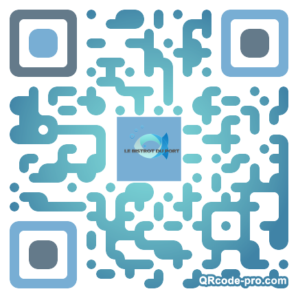 QR code with logo 1qmp0