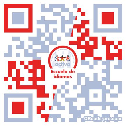 QR code with logo 1qp10