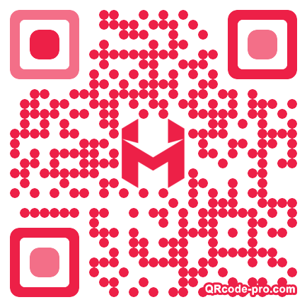 QR code with logo 1qt70