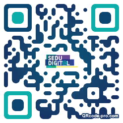 QR code with logo 1qws0