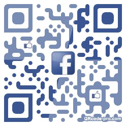 QR code with logo 1r0f0