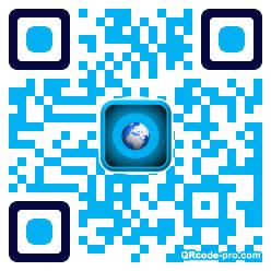 QR code with logo 1r0u0