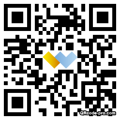 QR code with logo 1r0x0