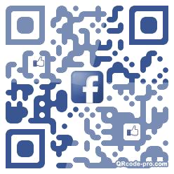 QR code with logo 1r1E0