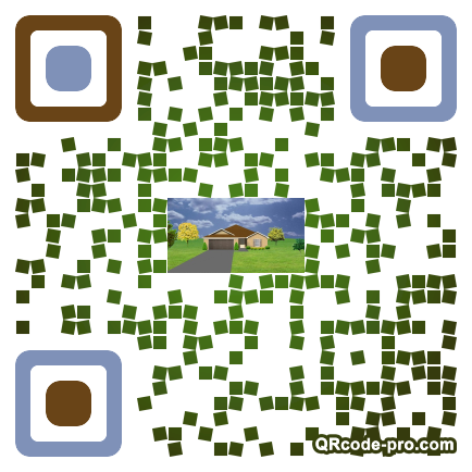 QR code with logo 1r380