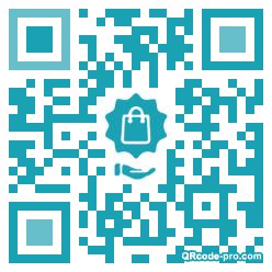 QR code with logo 1r3q0