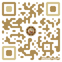 QR code with logo 1r450