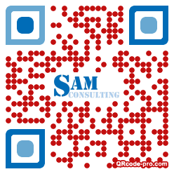 QR code with logo 1r8M0