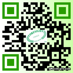 QR code with logo 1r8N0