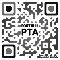 QR code with logo 1r8s0