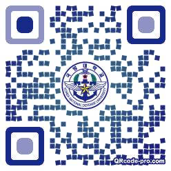 QR code with logo 1r8u0