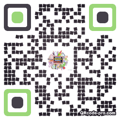 QR code with logo 1r910