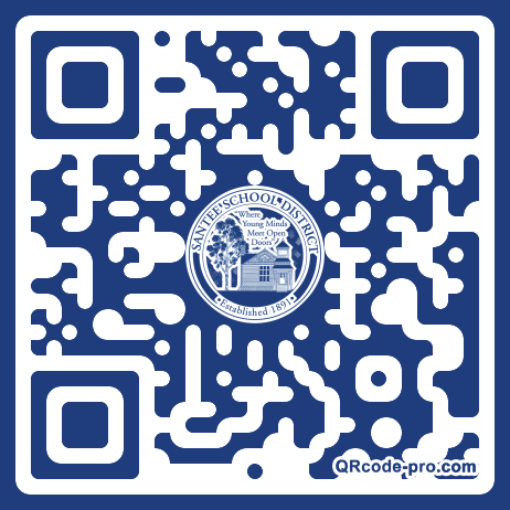 QR code with logo 1rBk0