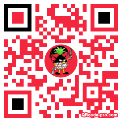 QR code with logo 1rBl0