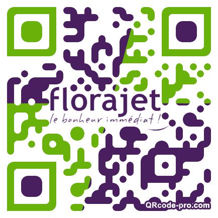 QR code with logo 1rI40