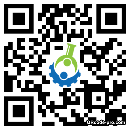 QR code with logo 1rN00