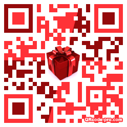 QR code with logo 1rT30