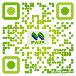 QR code with logo 1rWc0