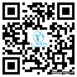 QR code with logo 1ra50
