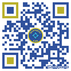 QR code with logo 1ra90