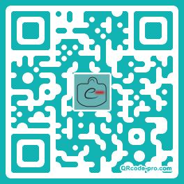 QR code with logo 1raJ0