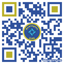 QR code with logo 1rab0