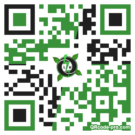 QR code with logo 1rb80
