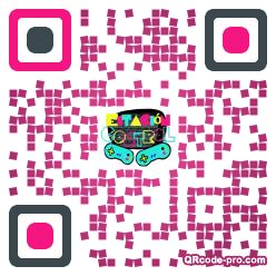 QR Code Design 1rd80