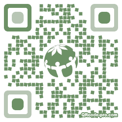QR code with logo 1rdC0