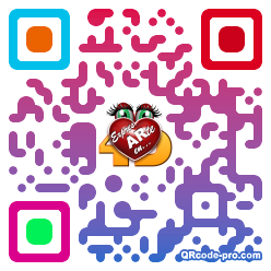 QR code with logo 1rdn0