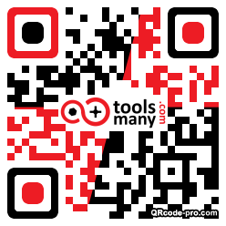 QR code with logo 1re20