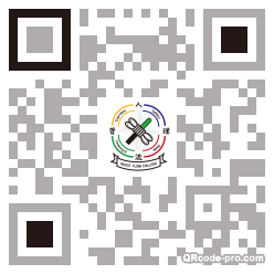 QR code with logo 1rg30