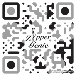QR code with logo 1riV0
