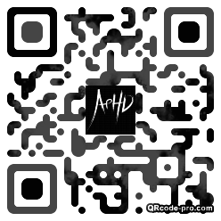 QR code with logo 1rii0