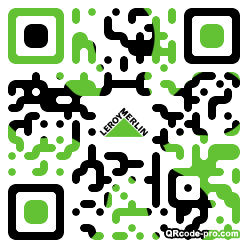 QR code with logo 1rkD0