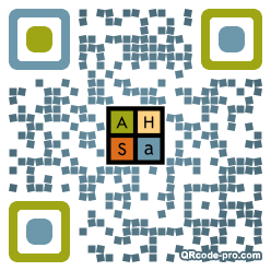 QR code with logo 1rlE0