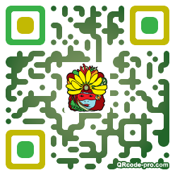 QR code with logo 1rnG0