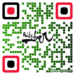 QR code with logo 1roE0