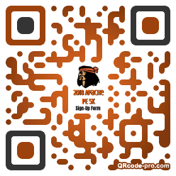 QR code with logo 1rsf0