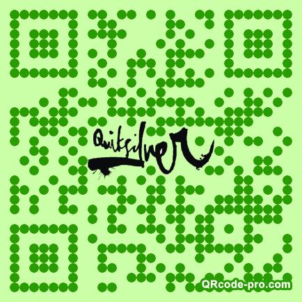 QR code with logo 1rtu0