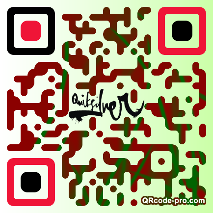 QR code with logo 1rur0