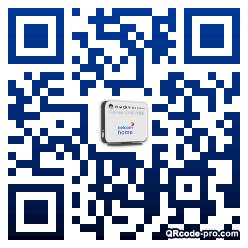QR code with logo 1rx50