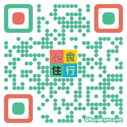 QR code with logo 1rxC0