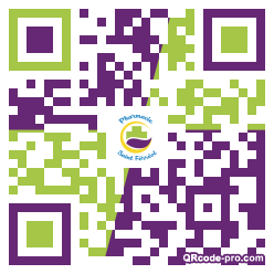 QR code with logo 1rxx0