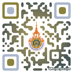 QR code with logo 1s320