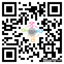 QR code with logo 1sOL0