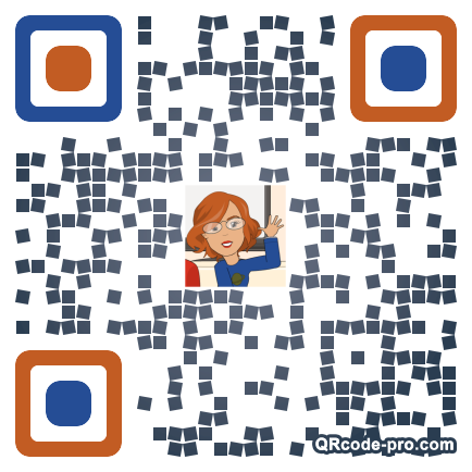 QR code with logo 1sPA0